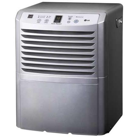 LG LD450EAL 45 Pint Portable Dehumidifier With Electronic Controls And Energy Star