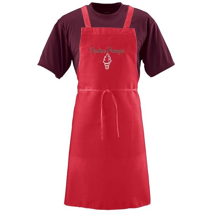 Augusta Butcher Apron - Red