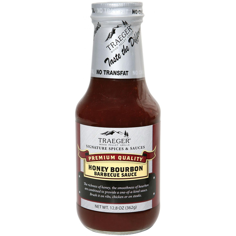Picture of Traeger Honey Bourbon BBQ Sauce - 12.8 Oz.
