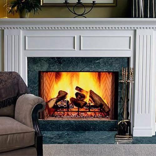 Monessen SB38HB Biltmore Series 38-Inch Radiant Wood Burning Fireplace With Herringbone Firebrick