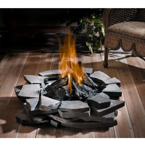 Napoleon GPF Patioflame Outdoor Natural Gas Fire Pit - Stainless Steel