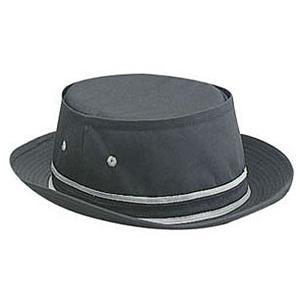 Otto Cap Cotton Twill Fisherman Hat L/XL - Black/Gray