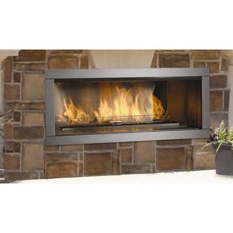 Firegear 60-Inch Linear Fireplace Cabinet - Ready To Finish