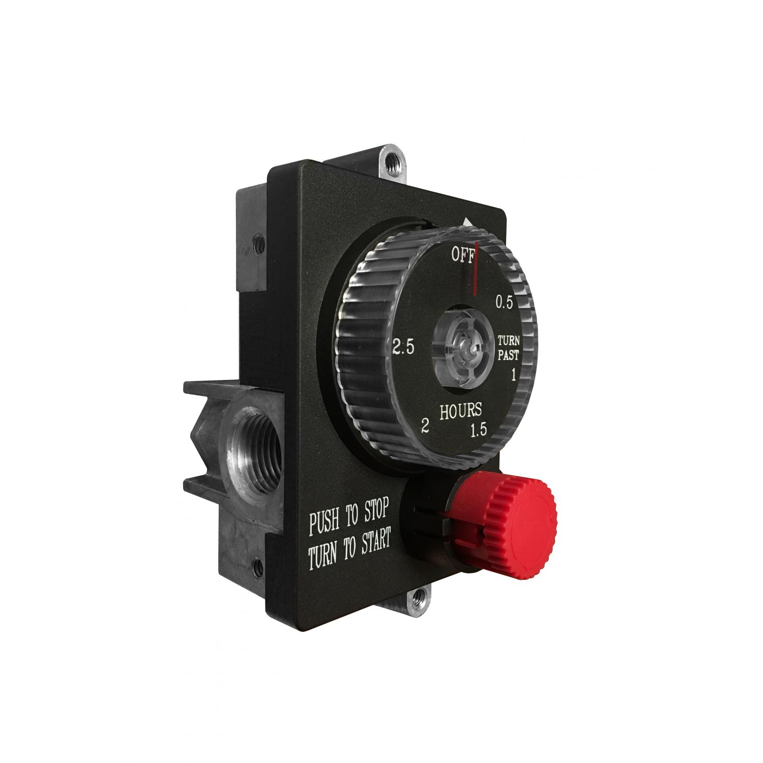 Automatic 2.5 Hour Timer Gas Safety Shut-Off Valve With Emergency Stop - Skytech ESTOP2-5H