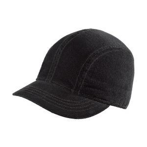 New Era Ladies Corduroy Short Bill Cap - Black