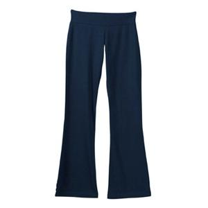 Bella Ladies Cotton/Spandex Yoga Pant XL - Navy