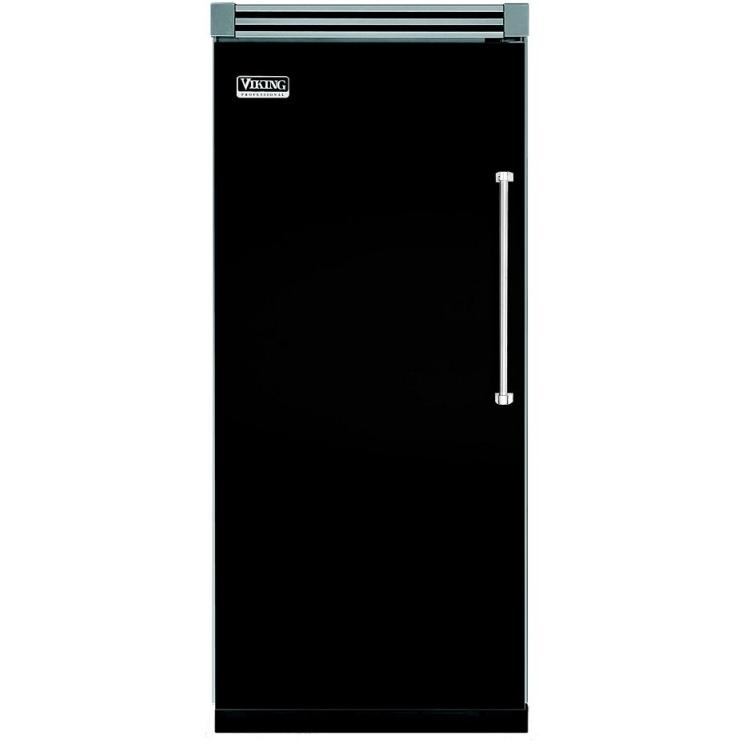 Viking VCFB536L 19.1 Cu. Ft. Capacity Professional Series Built In Left Hinge Freezer - Black
