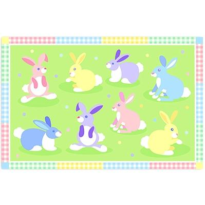 Olive Kids Laminate Placemat - Bunnies