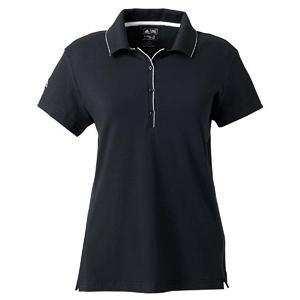 Adidas Golf Ladies ClimaLite Tour Jersey Short Sleeve Polo Shirt 2XL - Black/White