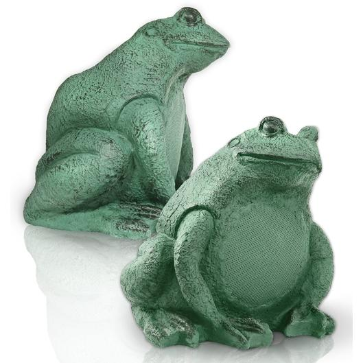 Picture of OSD Audio 5 1/4 Inch Decorative Frog Outdoor Speakers