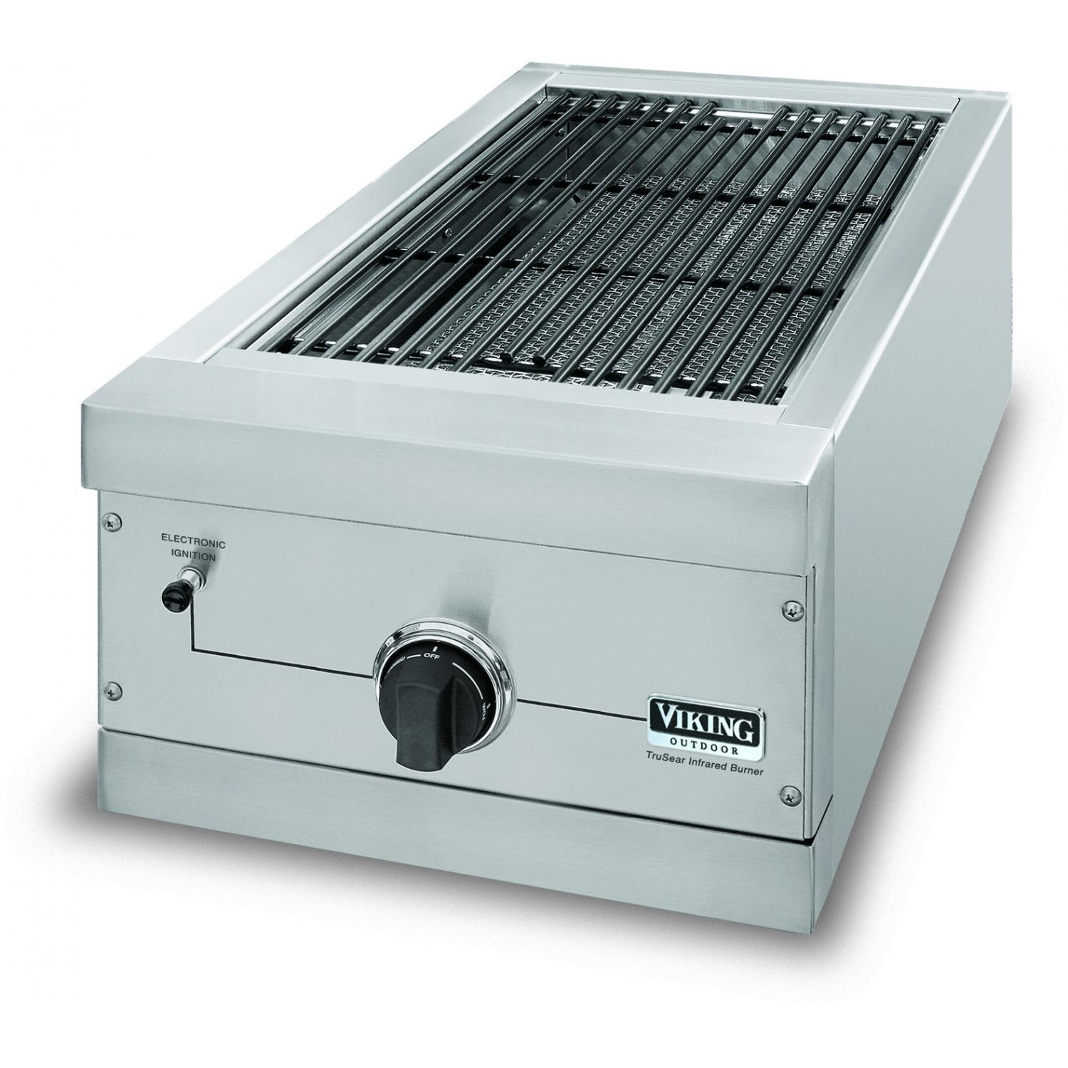Viking VGIB151TNSS 15-Inch Built-In Natural Gas Outdoor TruSear Griller