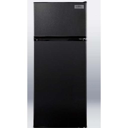 Summit FF1112BL 10.3 Cu. Ft. Capacity Refrigerator / Freezer - Black