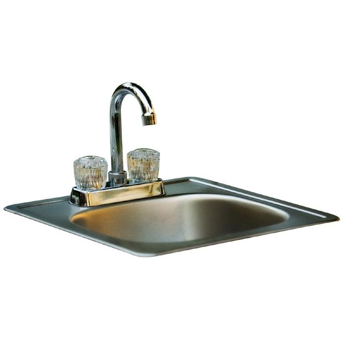 Bull 15-Inch Stainless Steel Sink