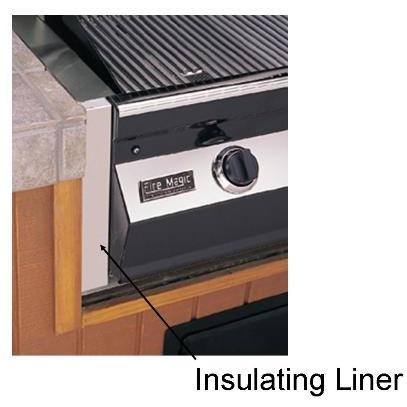 RCS Insulated Liner For Cutlass 27 Inch Grill Series