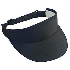 Otto Cap Deluxe Cotton Twill Sun Visor - Black