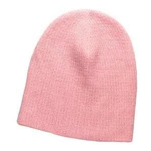 Otto Cap 8 Inch Superior Cotton Knit Beanie - Soft Pink