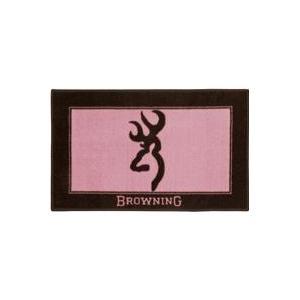 Browning Buckmark Pink Bath Mat