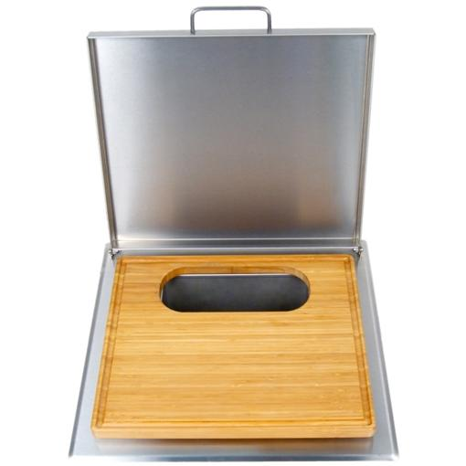 Fire Magic Cut And Clean Combo Trash Chute With Cutting Board 53816