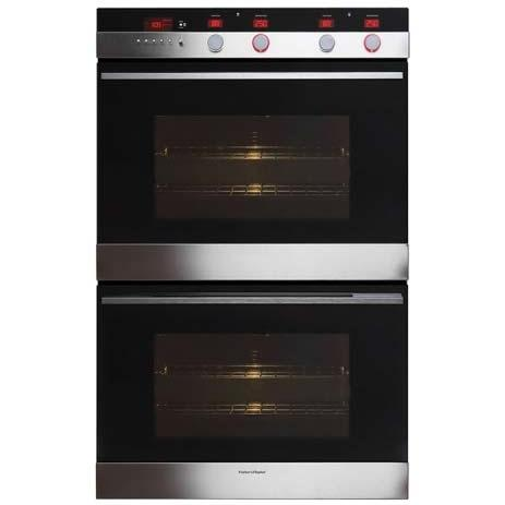 Fisher Paykel Wall Ovens 30 Inch Built In Double Wall Oven - OB30DDEPX1