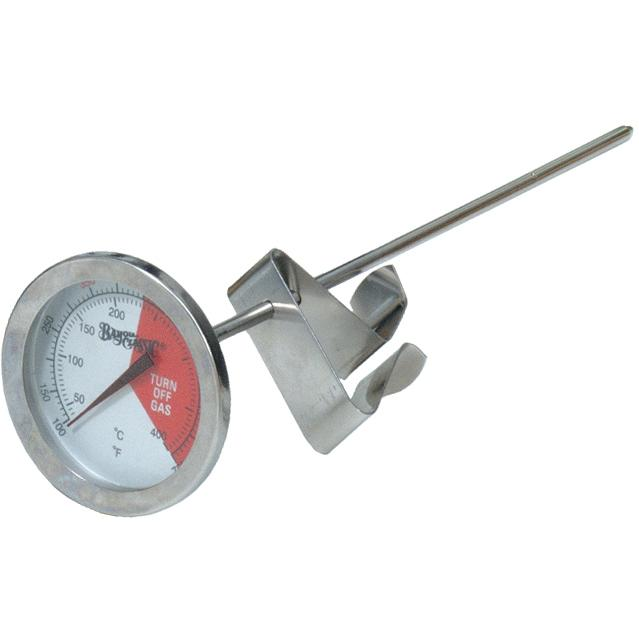 Bayou Classic Thermometers 5 Inch Stainless Steel Fry Thermometer