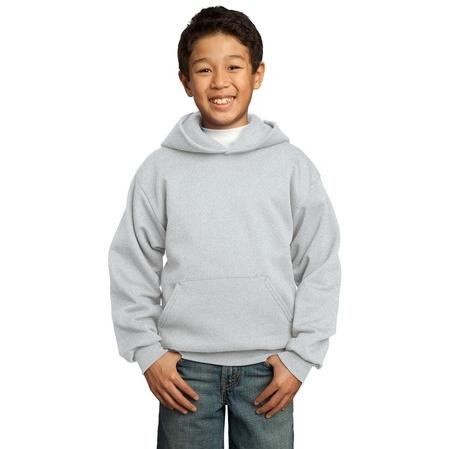 Port & Company Youth Hooded Pullover Sweatshirt XL - Ash