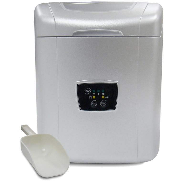 Vinotemp VT-ICEMP25 Tabletop Portable Ice Maker - Silver