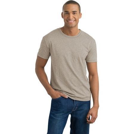 District Threads Slub Crewneck T-Shirt Large - Dusty Khaki