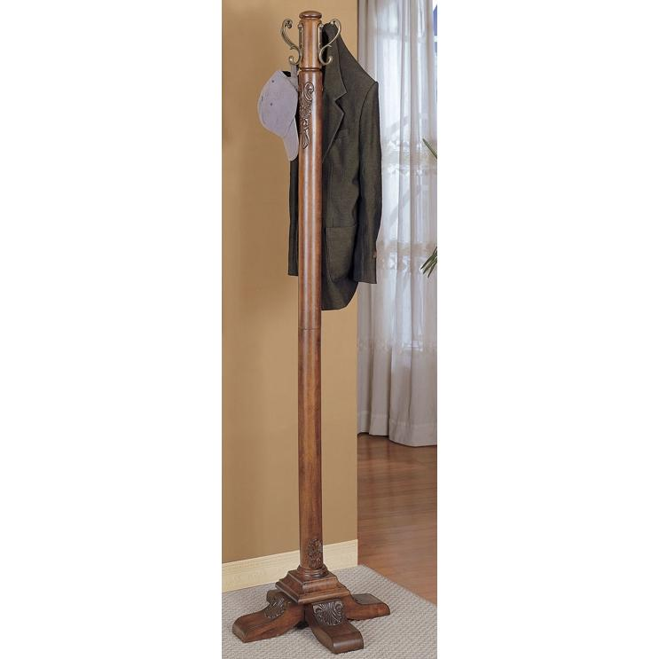 Powell Furniture - Woodbury Mahogany Coat Rack - 520-274