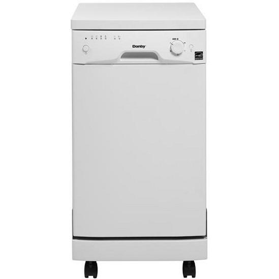 Danby DDW1899WP 18 Inch Portable Dishwasher - White