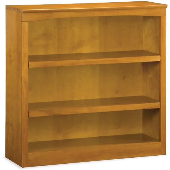 Atlantic Furniture 80037-MH 36 Inch Bookshelf Caramel Latte