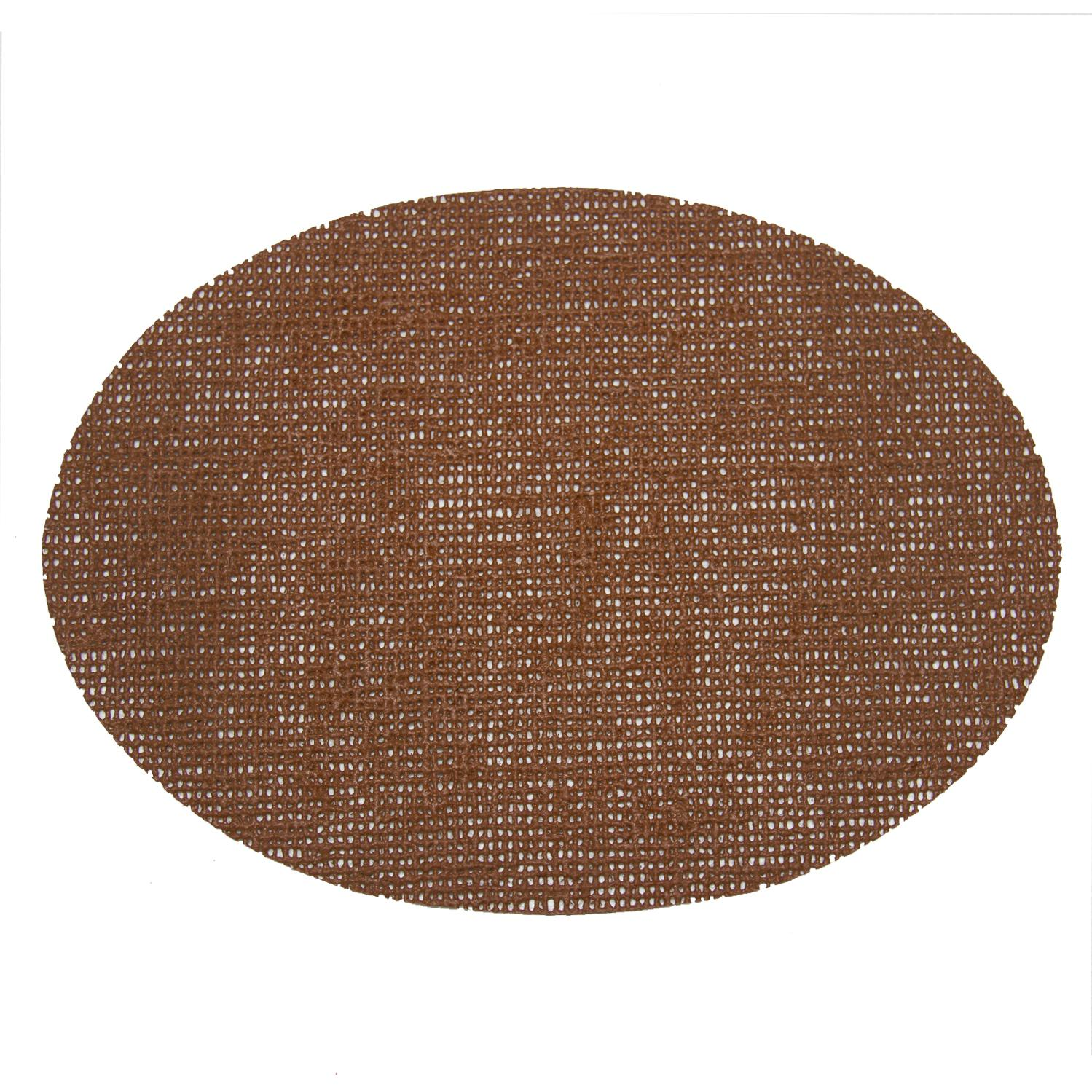 Picture of Fishnet Placemats 18 X 13 Oval Placemat - Butterscotch