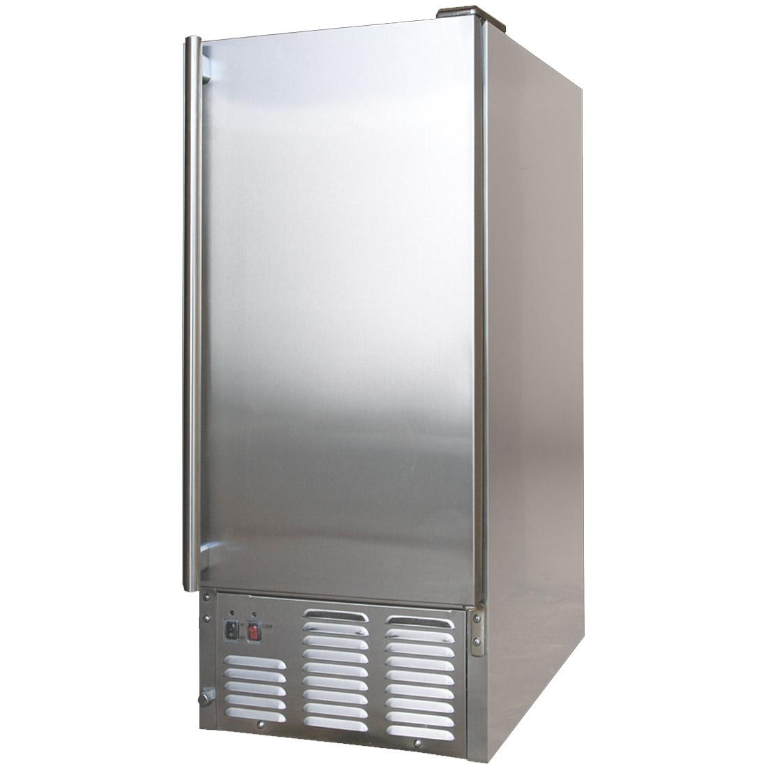 Cal Flame BBQ10700 Outdoor Compact Ice Maker - Stainless Steel