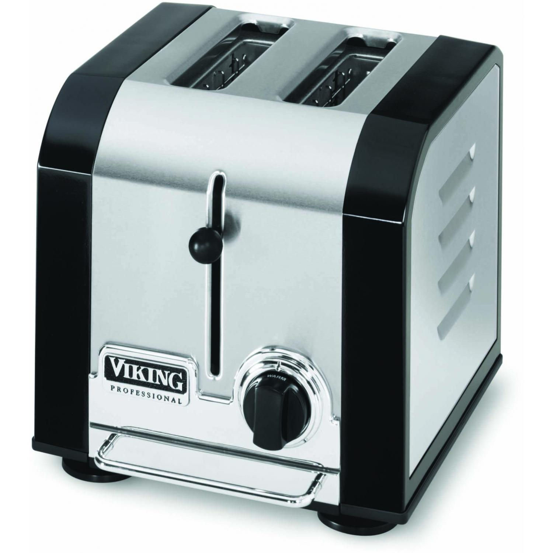 Viking VT201BK Professional 2-Slot Toaster - Black