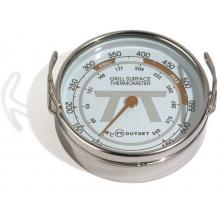 2-Inch Stainless Steel Grill Surface Thermometer Outset 2-Inch Stainless Steel Grill Surface Thermometer - Full View