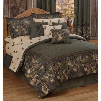 Browning Whitetails Cal King Comforter Set