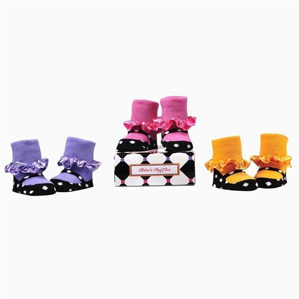 Elegant Baby Organic 3-Pair Sock Set - Ritas Ruffles