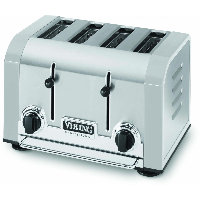 Viking VT401SG Professional 4-Slot Toaster - Stainless Gray
