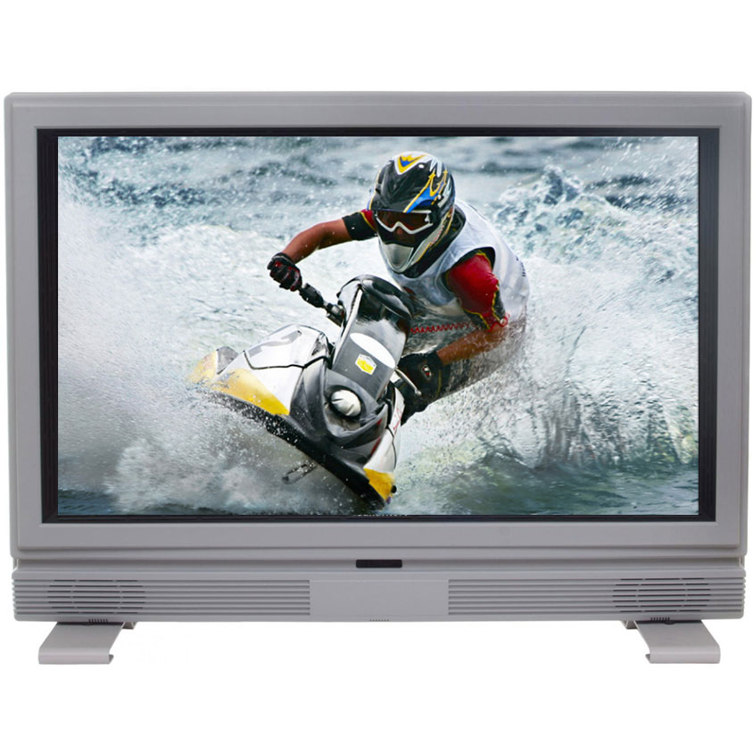 SunBriteTV All-Weather 32-Inch LCD Outdoor HDTV With Plastic Exterior, Articulating Wall Mount, Remote & Cover - Silver