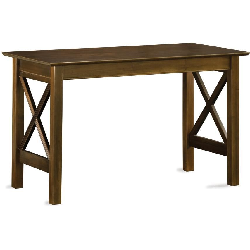Atlantic Furniture 6071400 Lexington Work Table - Antique Walnut