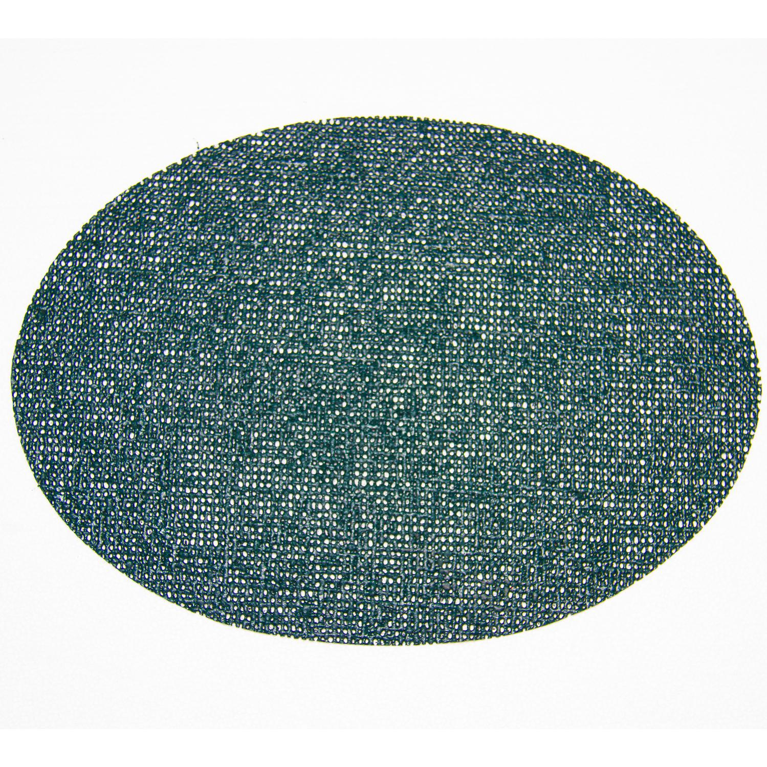 Picture of Fishnet Placemats 18 X 13 Oval Placemat - Hunter Green