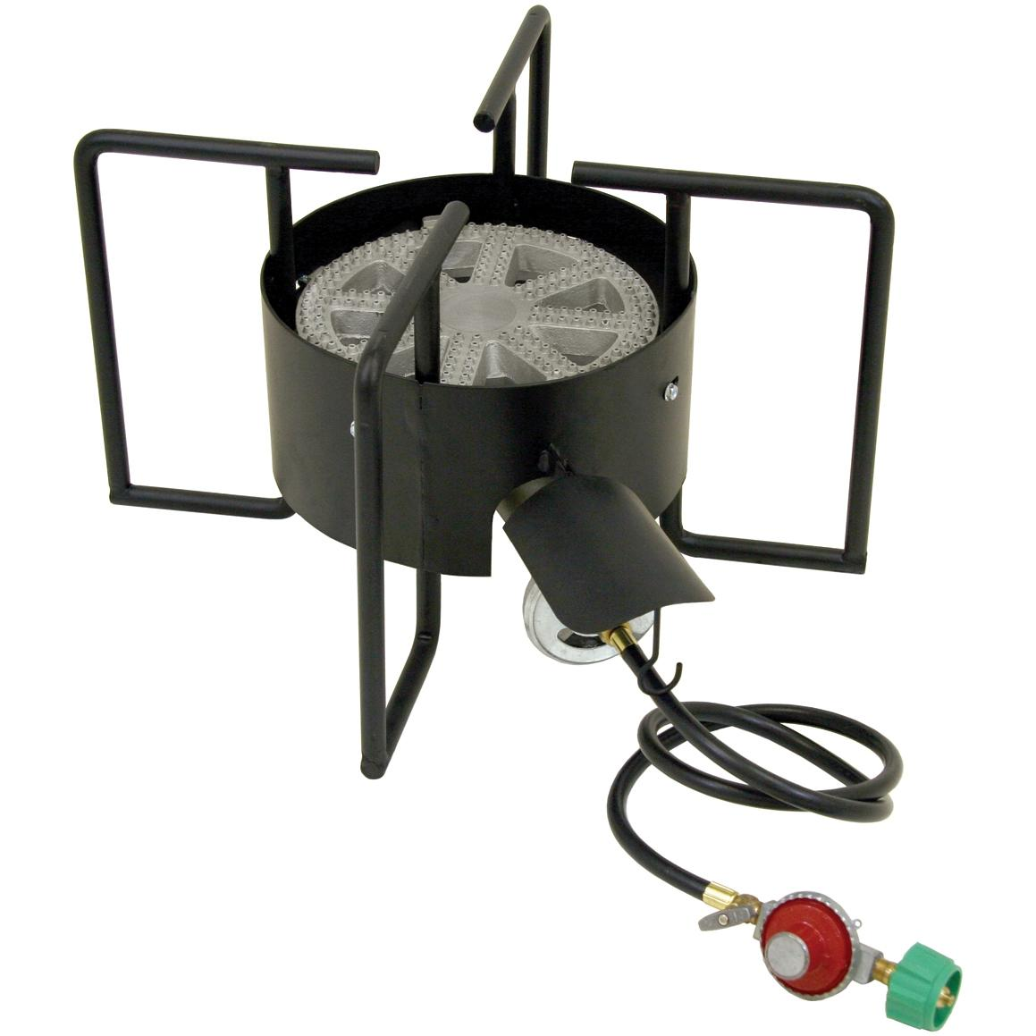 Bayou Classic Outdoor Stove With Hose Guard 22 Inch Low Pressure Bayou Cooker