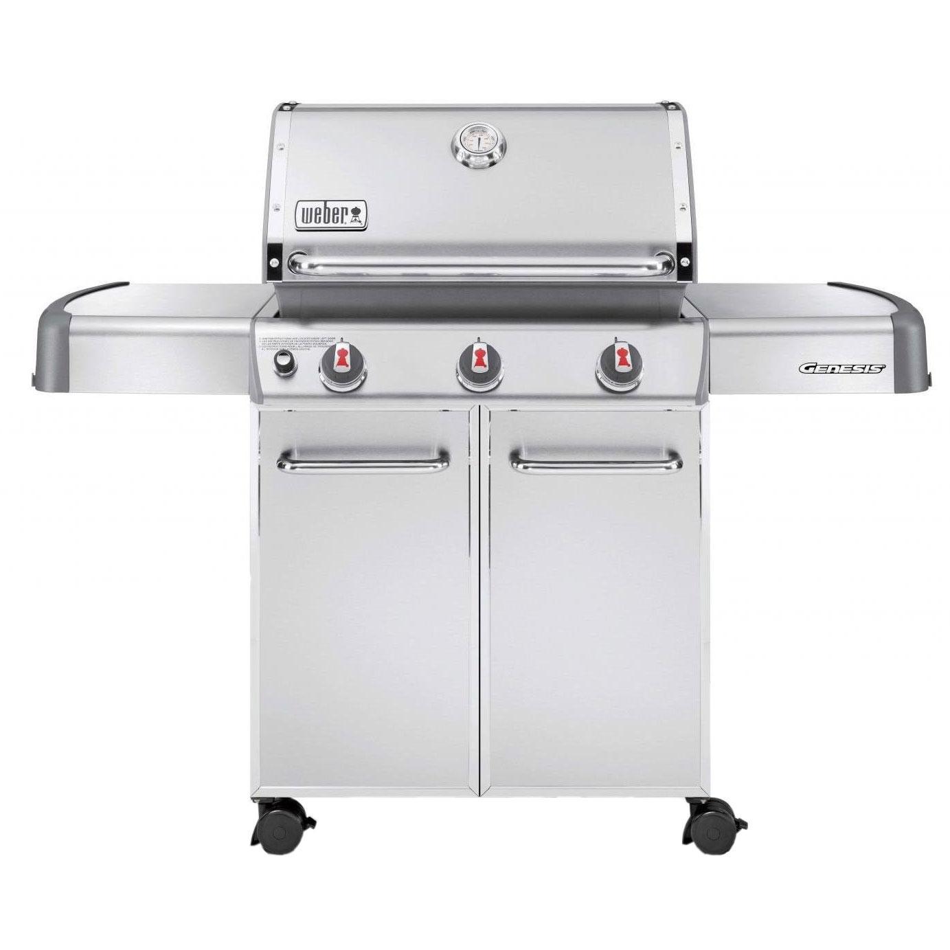 sales for weber genesis s 310 propane gas grill on cart. Black Bedroom Furniture Sets. Home Design Ideas