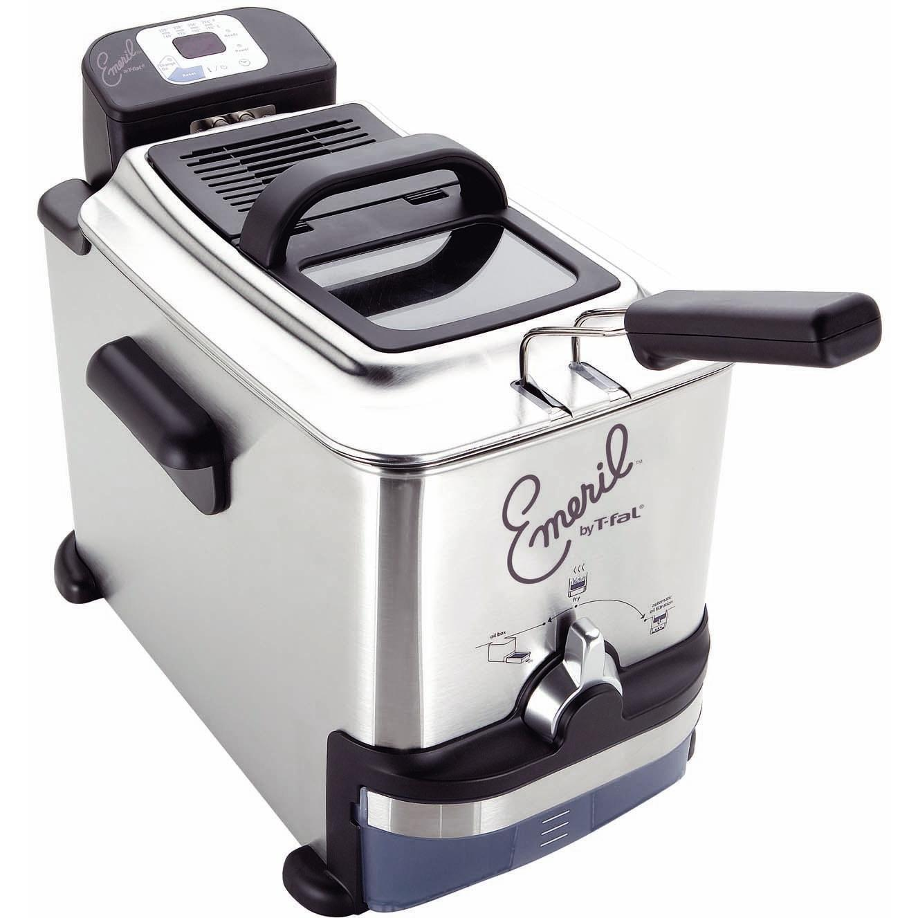 Emerilware By T-fal 3.3 Liter Stainless Steel Deep Fryer - FR7009001