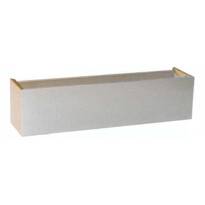 Luxor 36 X 12 Outdoor Vent Hood Duct Cover LX-HDC3612-SS