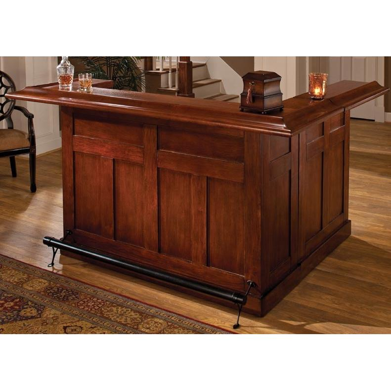 Hillsdale Classic Wrap Around Large Bar - Cherry - 62578AXCHE