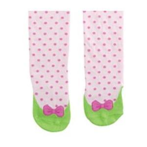 Elegant Baby Organic Knit Tights - Pastel Pink