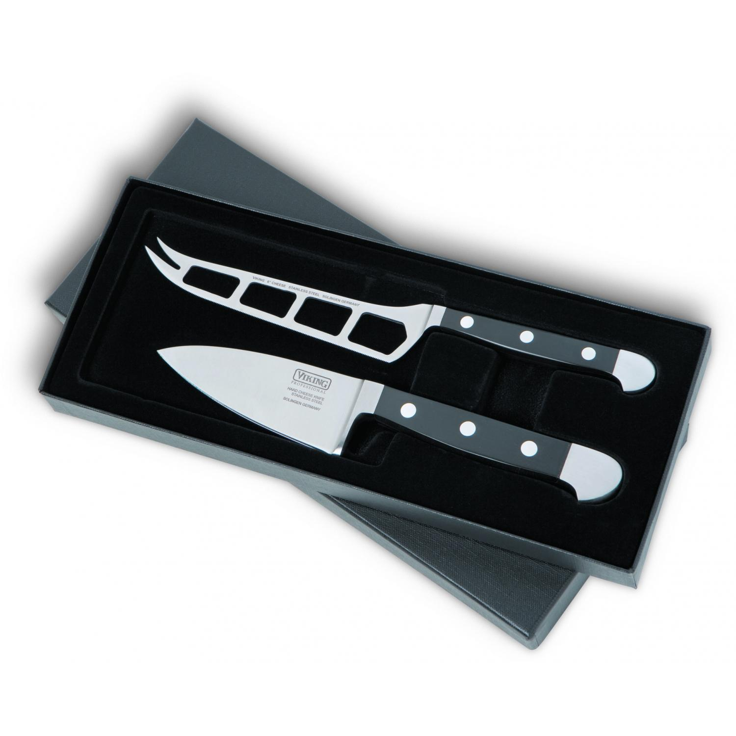 Viking VCSR0112 2-Piece Cheese Knife With Gift Box