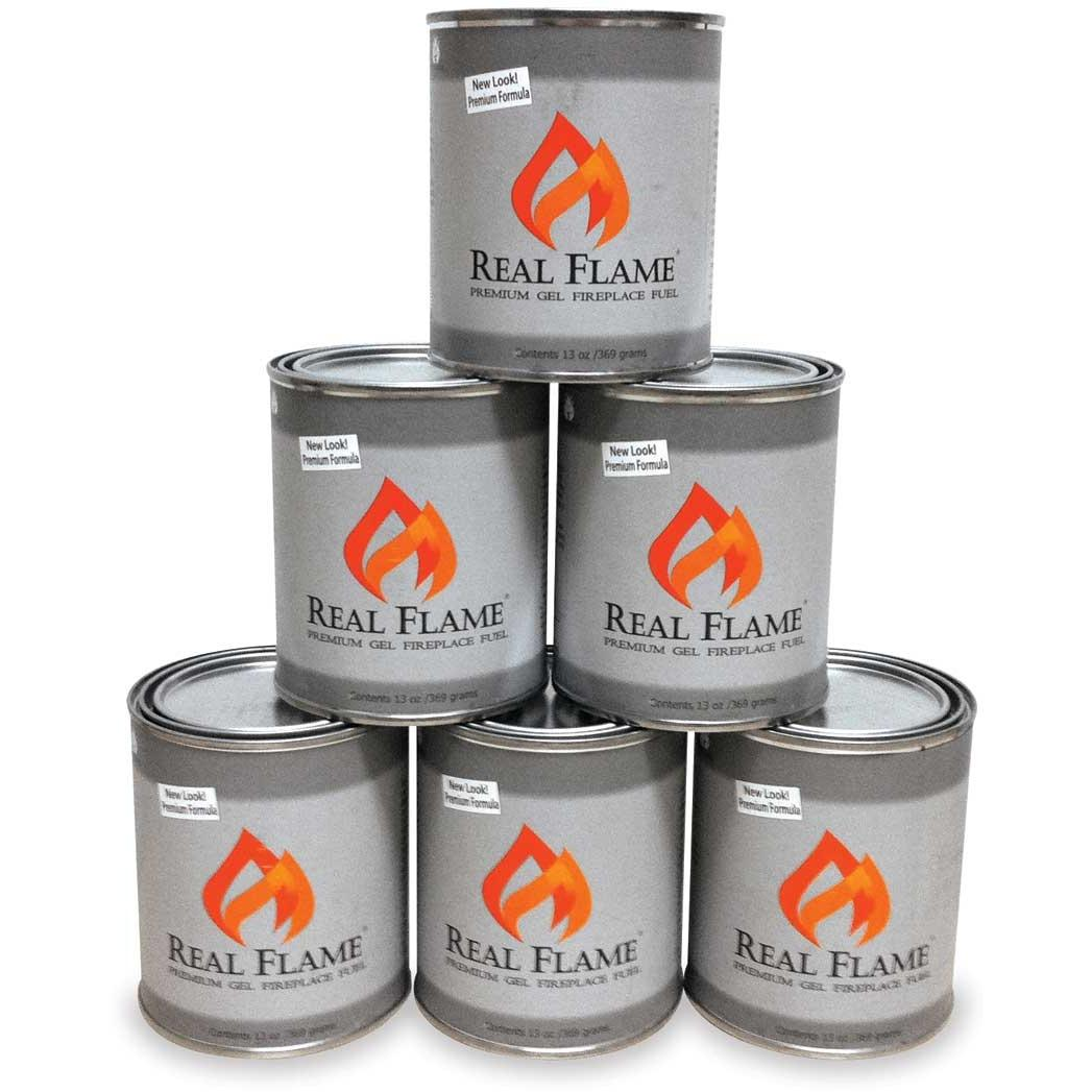 Real Flame 24 Pack Alcohol Gel Fuel