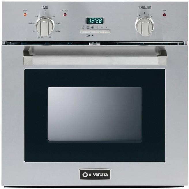 Verona VEBIE24PSS 24-Inch Self-Cleaning Electric Wall Oven - Stainless Steel