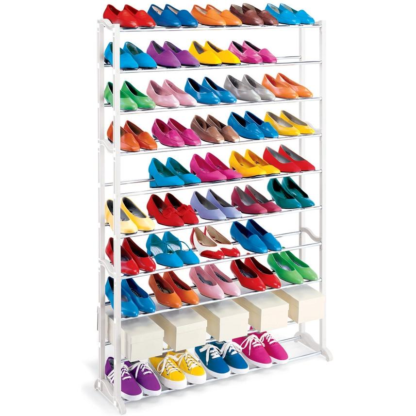 Lynk 50 Pair Shoe Rack - 145950DS